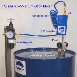 55 gallon drum mixer