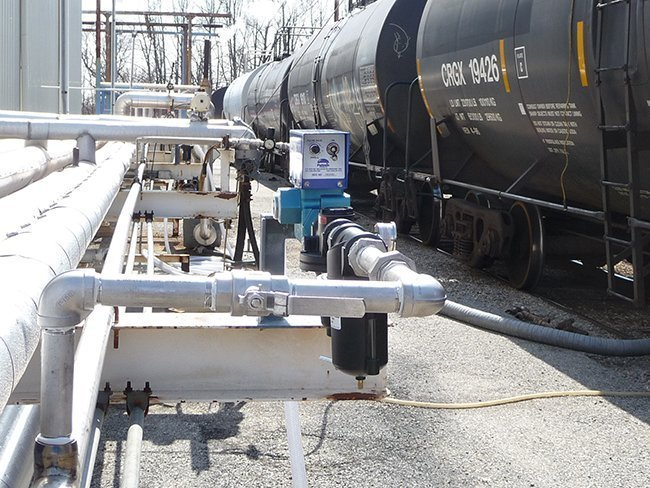 rail tank car slurry mixing