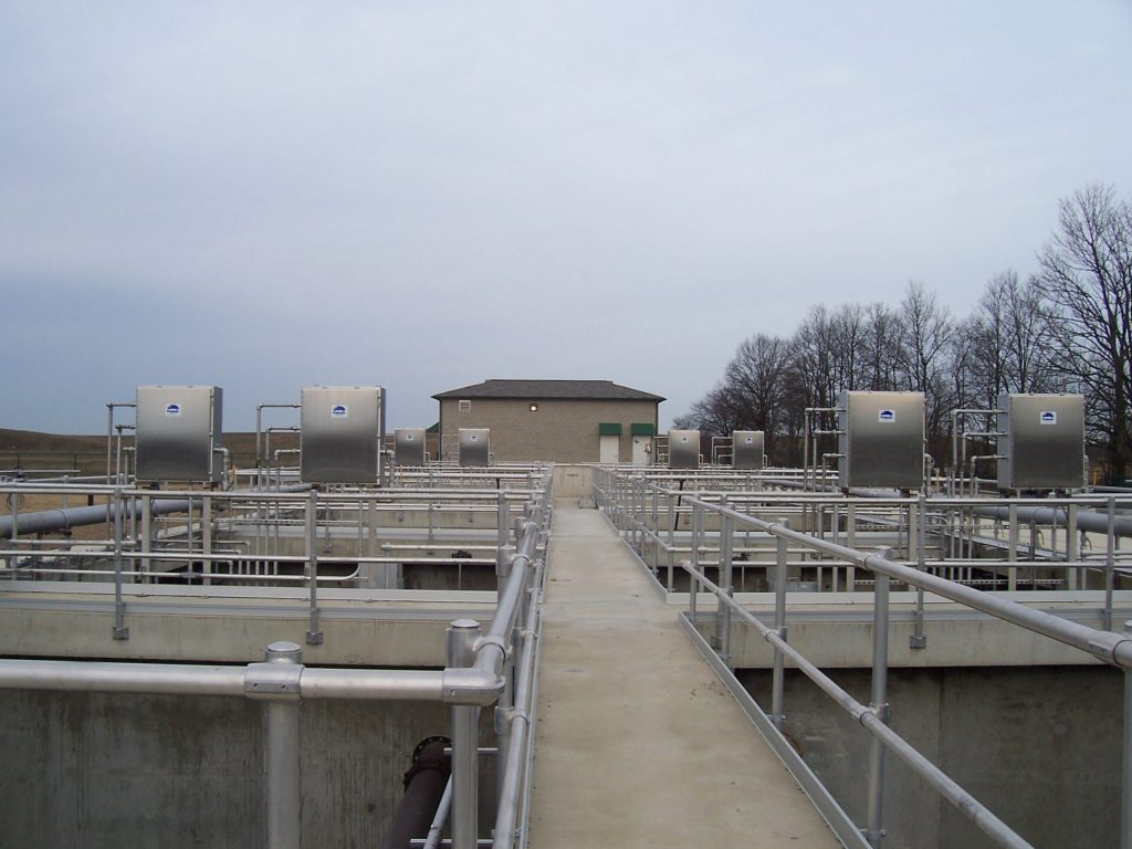 wastewater mixing equipment