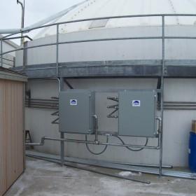 wastewater tank mixing