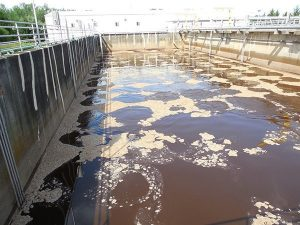 aerobic wastewater mixing system